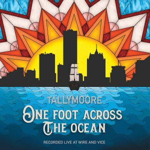 Tallymoore One Foot Across the Ocean EP Cover Art